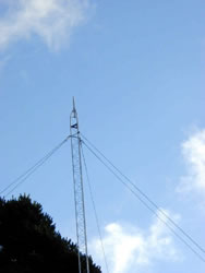 Guyed Communication Tower